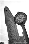 Horloge 5eme avenue et Flatiron, Manhattan, New York